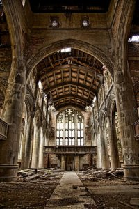 Bild: Methodist City Church in Gary, Ind., gefunden auf Pinterest
