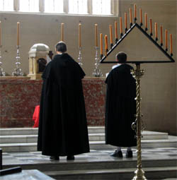 Tenebrae in Blackfriars, Oxford, 2008